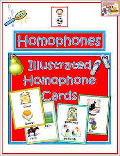 Homophones-printable