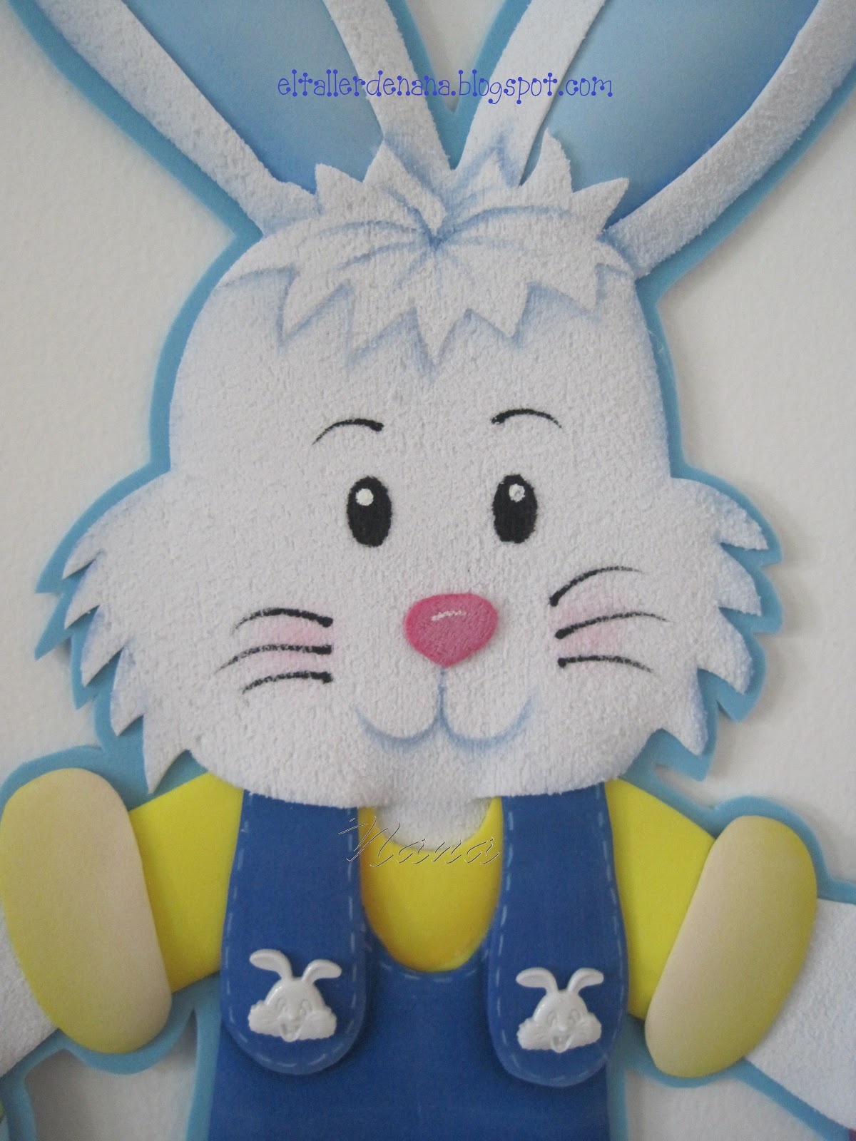 El Taller de Nana: Conejo en Foamy
