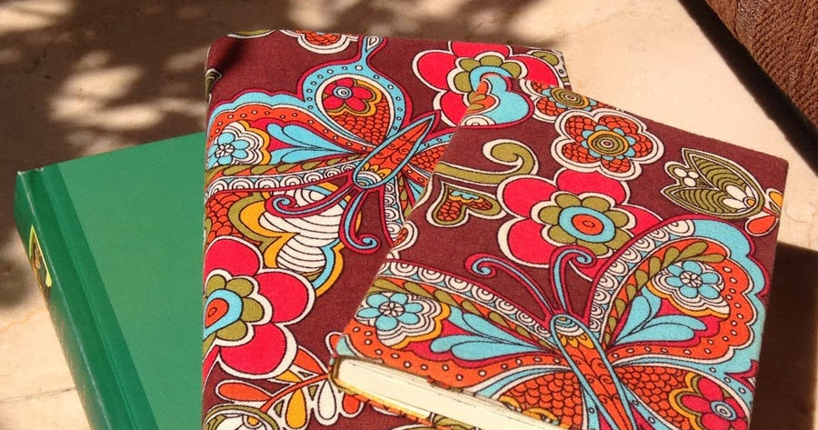 Large Fabric Book Cover : Tutorial no adjustable fabric book cover d i y