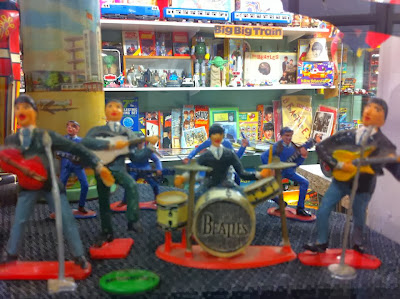 The Beatles in Martin's Toys & Memoribilia