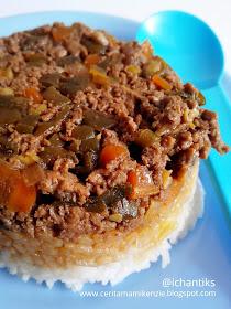 resep mpasi nasi tim daging sayur 1y cerita mami