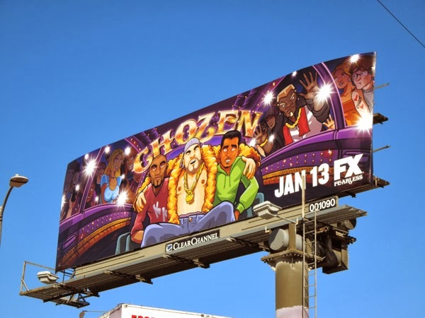 Chozen season 1 FX billboard