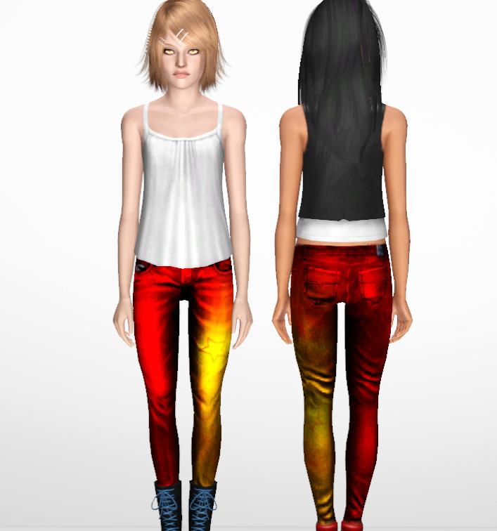 Color Skinny Jean Teen 54