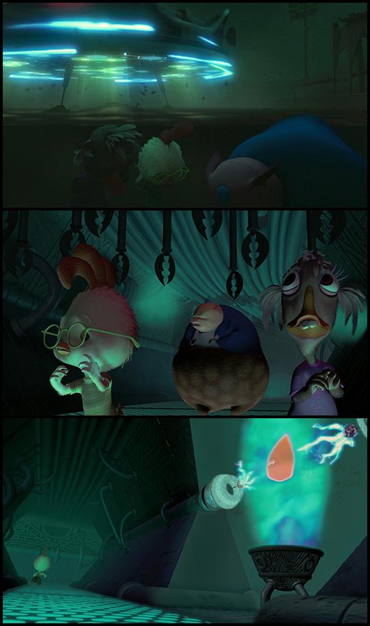 Chicken Little (2005) Disney movie - Love lil orange alien ...