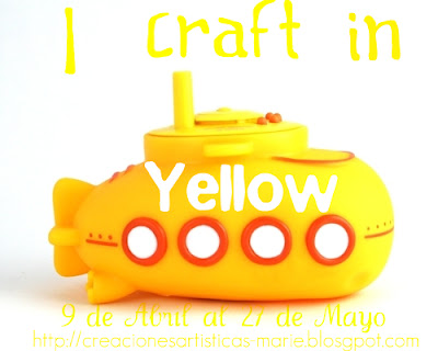 I CRAFT IN YELLOW!!!  cumplido