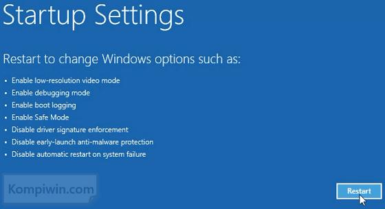 3 Cara Mengakses 'Advanced Boot Option Menu' di Windows 8 dan Windows 8.1 6