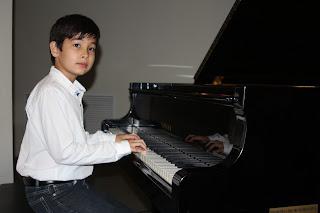 Miguel durante el recital