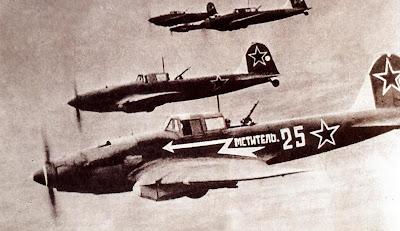 Ил-2 в боевом строю.