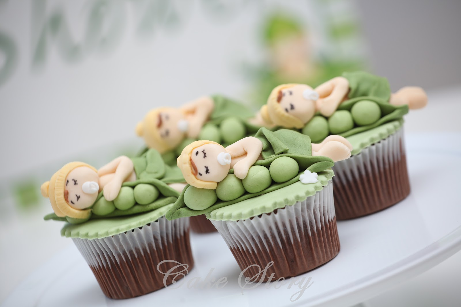 Here Is Our New Line For Baby Showers, Sweet Pea Theme.