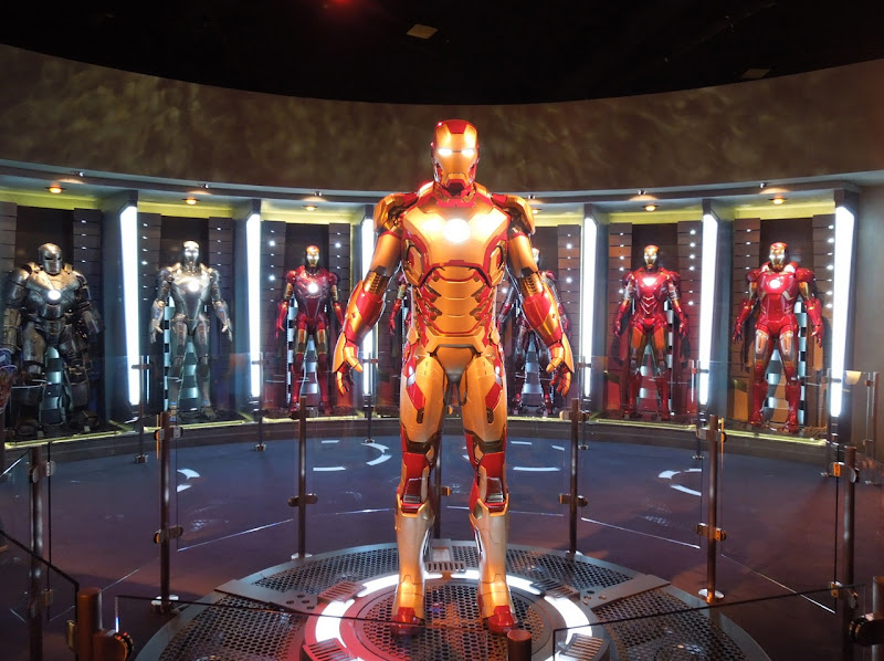 Iron Man 3 Hall of Amour Disneyland