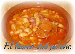 Alubias Con Chorizo Expres