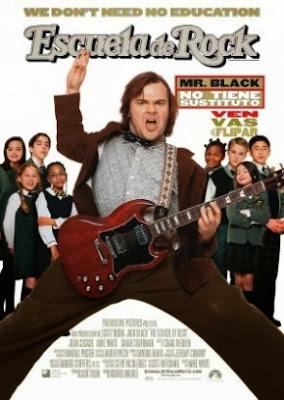 Escuela de Rock (Dvdrip, Castellano, Comedia/Música, 2003)
