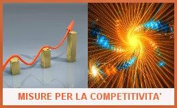 Logo pacchetto competitività del Governo Renzi