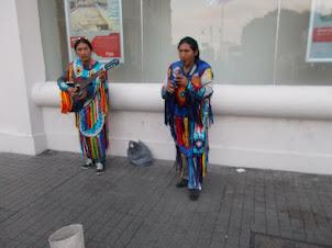Street Musicians on Istiklal street of Istanbul.
