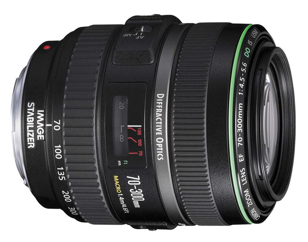 Harga dan Spesifikasi Lensa Canon EF 70-300mm f/4.5-5.6 DO IS USM Terbaru