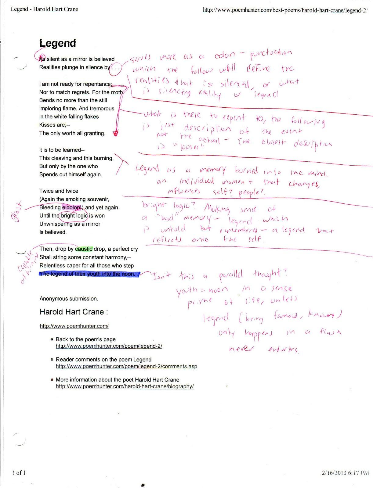 to helen poem analysis