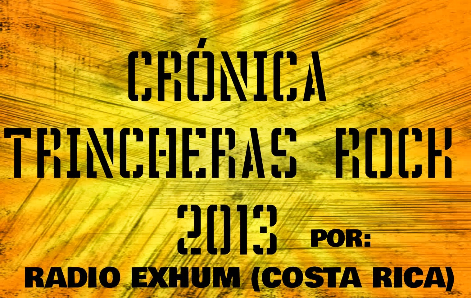 Crónica TR2013