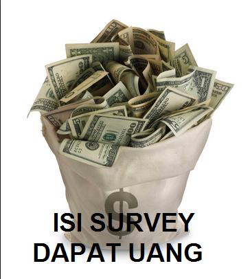 Isi survey online dapat uang dengan mudah