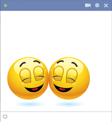 Happy Facebook Emoticons
