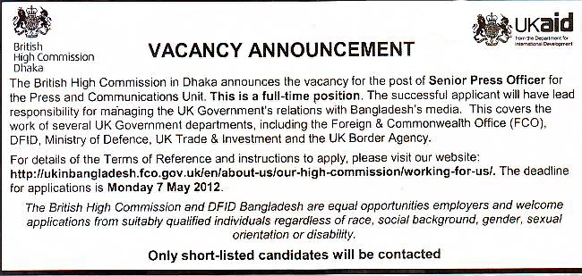 British high commission dhaka