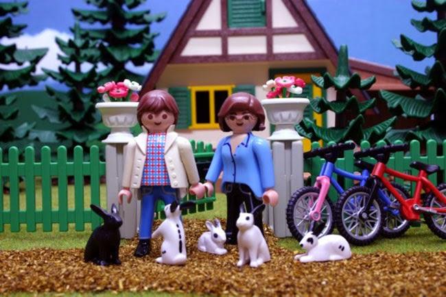 Playmobil familia