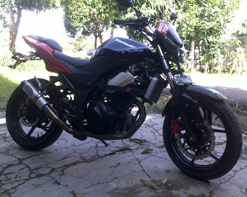 Modifikasi Motor Modifikasi Motor Kawasaki Ninja 250 Base On Gp