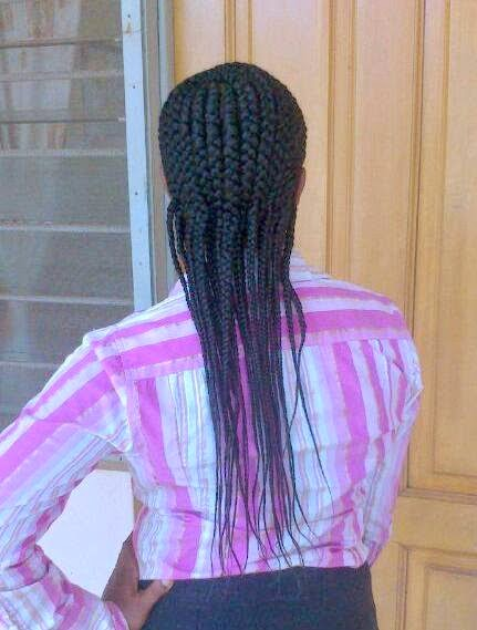 protective style cornrows