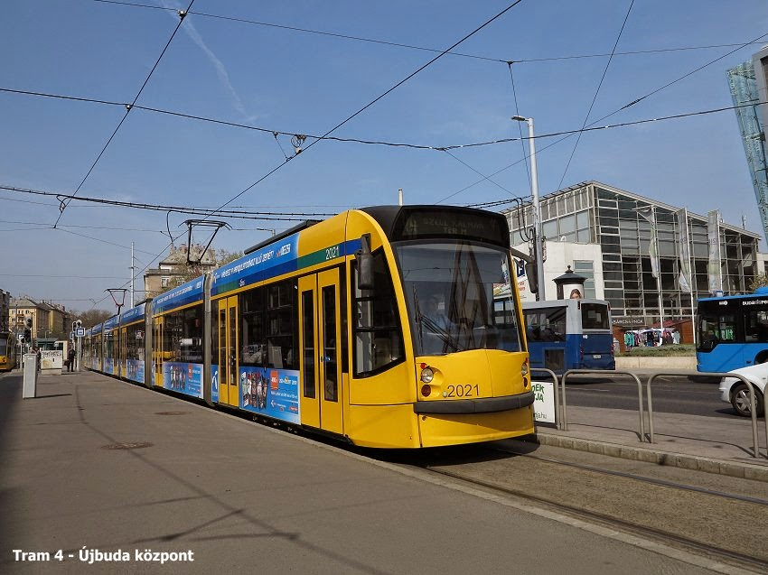 Robert Schwandls Urban Rail Blog BUDAPEST Metro Tram