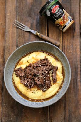 polenta ragout viande parmigiano regiano galbani