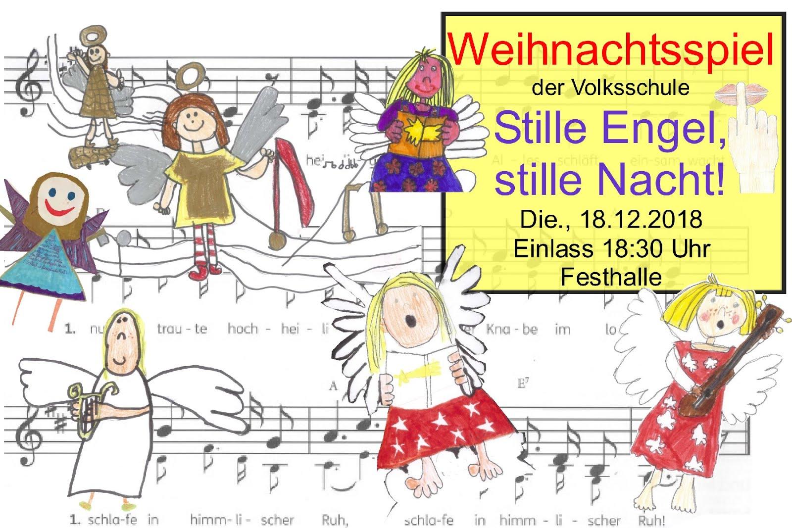 Weihnachtsspiel Volksschule Schlitters 2018