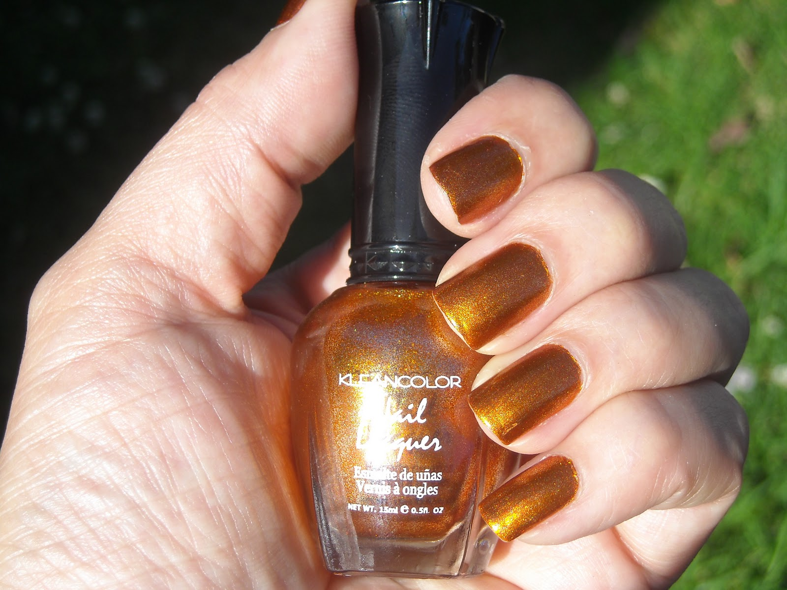 The Cat\'s Claws: Kleancolor Metallic Mango #159