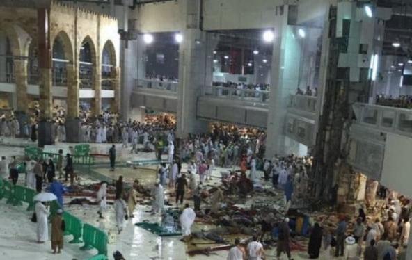 Daftar Nama Jamaah Haji Yang Meninggal Akibat Crane Masjidil Haram