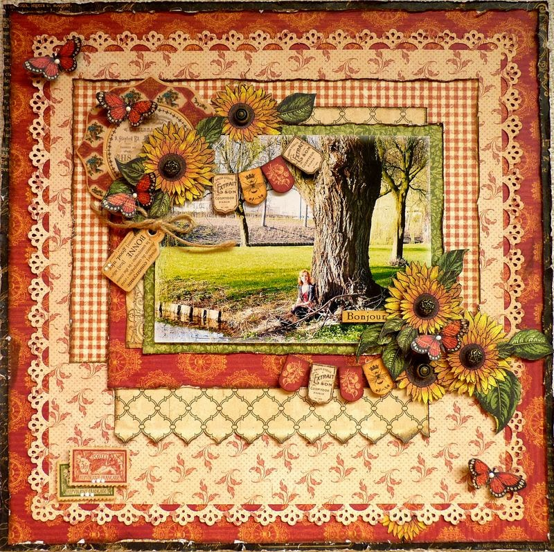 Scrapstuff and more bonne french country for graphic 45 for French country collection