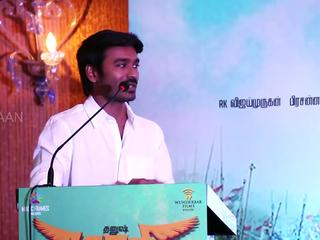 ​DHANUSH in MAARI Press Meet