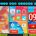 Android New KitKat Theme For Nokia 202,300,303,x3-02,c2-02,c2-03,c2-06,c3-01 240*320 Touch and Type Devices