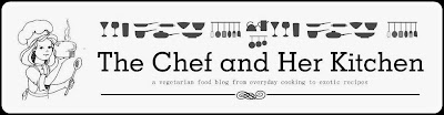 THE CHEF and HER KITCHEN