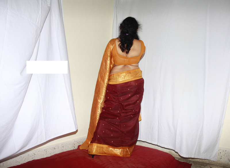 Saree sex indian strip