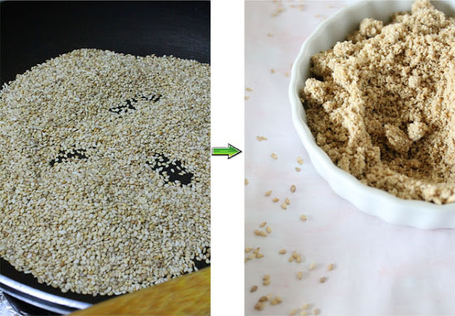 Spusht | How to make sesame seed powder at home