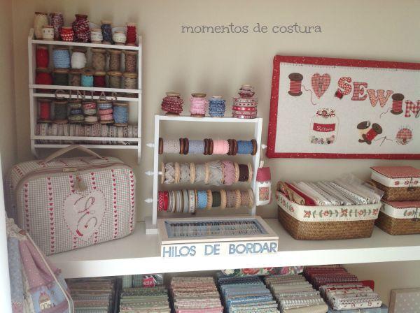 Momentos de Costura: Mi cuarto de costura