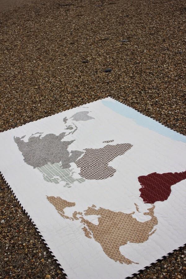 aplicación los continentes mapa del mundo