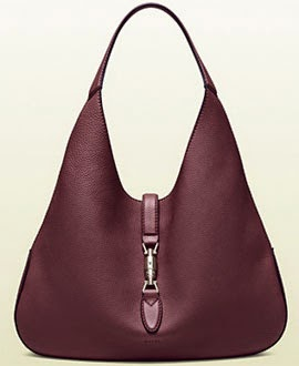 New Jackie Bag Gucci coleção bolsas Jackie Soft bourdeaux leather