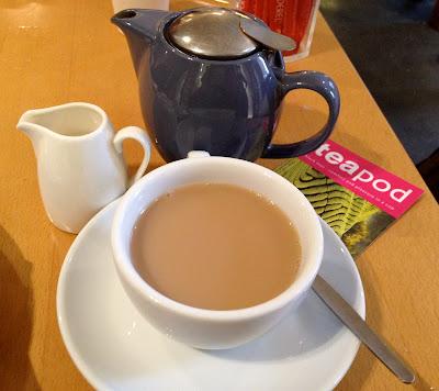 Tea Pod teapot tea