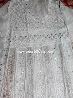 Pishwas Chikan Dress