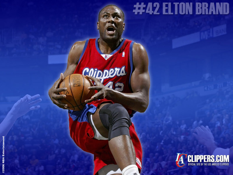 Elton Brand Philadelphia 76ers Basketball Players