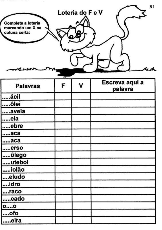 170 ATIVIDADES DE PORTUGU  S 2   ANO PARA IMPRIMIR