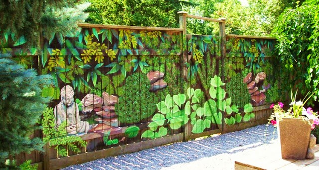 Garden Fence Decoration Ideas garden fence ideas 2 15 Unique Garden Fencing Ideas Wood Picket Fence Panels