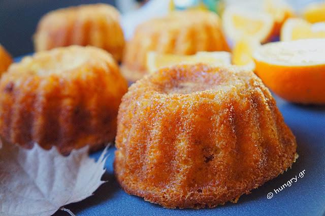 Orange Mini Cakes