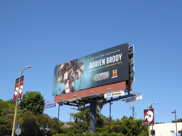 Adrien Brody Houdini 2015 Emmy billboard