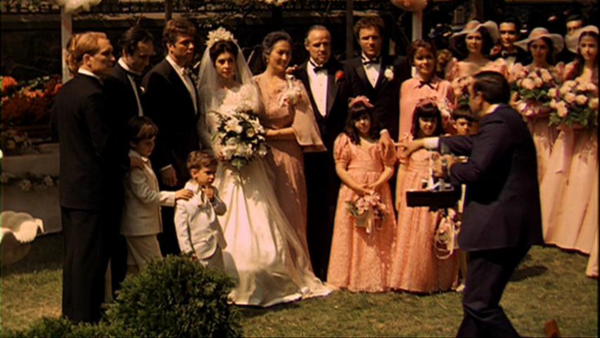 Godfather music at wedding