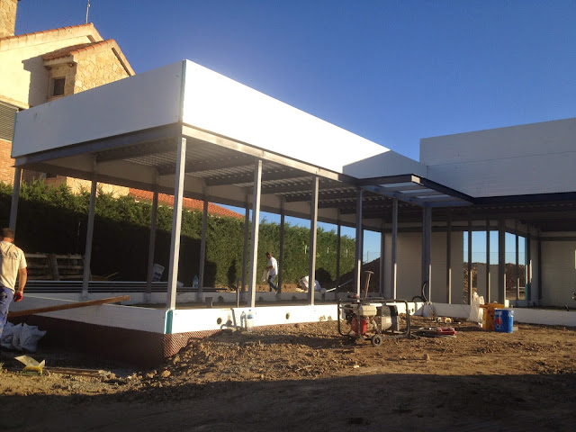 Construcción vivienda modular - Resan